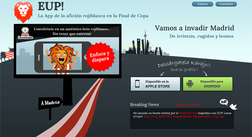 Web de EUP!