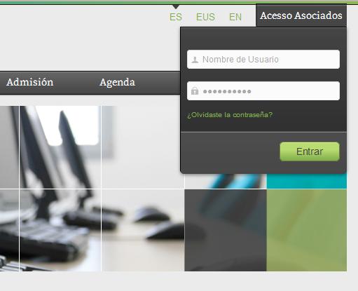 Acceso usuarios AVIC
