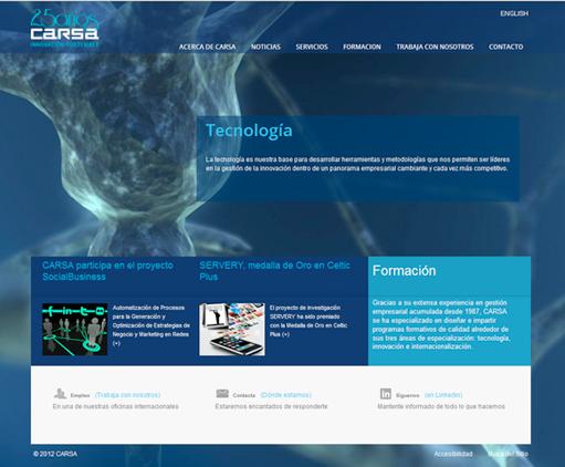 Web de CARSA