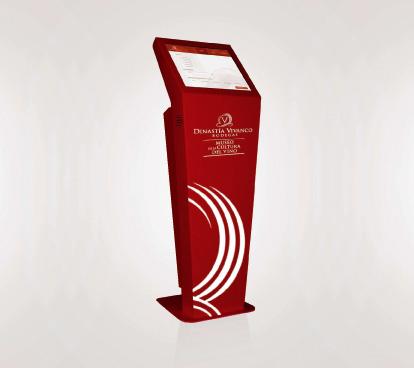 Kiosko interactivo Dinastía Vivanco
