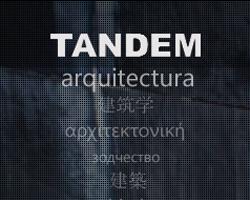 Tandem Arquitecturaren webgunea