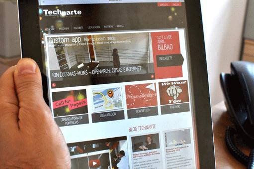 Technarte en tablet